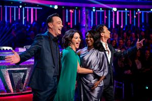 The Strictly judges (Guy Levy/BBC)