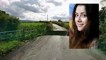 Mairead Howie and her husband had a lucky escape when the bridge collapsed on the Muff to Iskaheen road in Inishowen