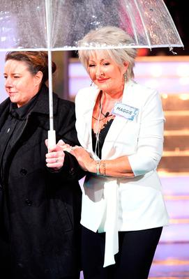 Maggie Oliver enters the house during the Celebrity Big Brother Launch held at Elstree Studios in Borehamwood, Hertfordshire.PRESS ASSOCIATION Photo. Picture date: Tuesday January 2, 2018. See PA Story SHOWBIZ CBB. Photo credit should read: Ian West/PA Wire
