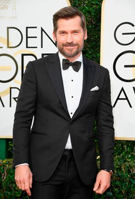 Actor Nikolaj Coster-Waldau attends the 74th Annual Golden Globe Awards at The Beverly Hilton Hotel on January 8, 2017 in Beverly Hills, California.  (Photo by Frazer Harrison/Getty Images)