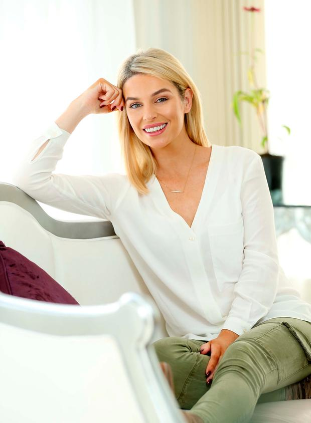 Pippa O'Connor, pictured at the launch of the Sona 'Future Proof Your Health' campaign