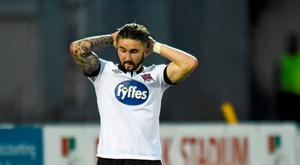 Sean Maguire rues a missed opportunity for Dundalk during his time there in 2015