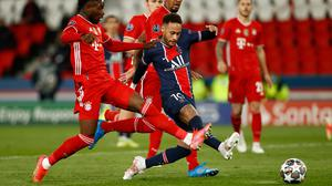 Paris St Germain's Champions League quarter-final win over Bayern Munich will go down in history as the last away goals in the competition. Photo: Reuters/Christian Hartmann