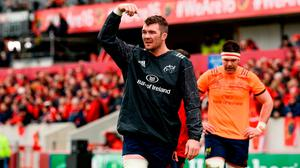 'Peter O'Mahony was simply immense, the epitome of the Munster warrior that was Paul O'Connell, Mick Galwey, Anthony Foley and leaders of that ilk before him.' Photo: Diarmuid Greene/Sportsfile