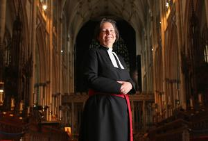 Reverend Vivienne Faull of York was one of Britain's first women priests. Photo credit: Christopher Furlong/Getty Images