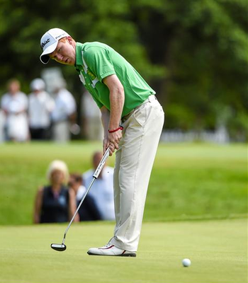 The Island's Gavin Moynihan, pictured, re-established himself as one of the leading lights for September's Walker Cup when he stared down his teenage clubmate Kevin LeBlanc to win the Irish Amateur Open for the second time (Sporstfile)