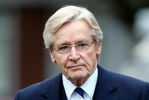 Coronation Street actor Bill Roache arrives at Preston Crown Court. PA