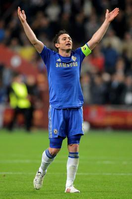 Chelsea's Frank Lampard reacts after the final whistle