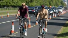 Motorists have faced tailbacks due to the new layout, but cyclists have welcomed changes