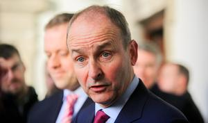 The issue is sure to be centre stage when Fianna Fáil leader Micheál Martin and Taoiseach Leo Varadkar meet to discuss policy next week. Photo: Gareth Chaney, Collins