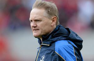 Leinster coach Joe Schmidt