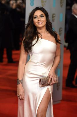 Nadia Forde arriving at The EE British Academy Film Awards 2015, at the Royal Opera House, Bow Street, London