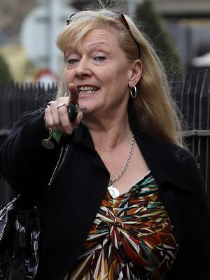 Bernadette Moore (58), of Belclare Park, Poppintree, Dublin, pictured leaving the Four Courts after she was awarded €17,470 damages following a Circuit Civil Court action Pic: Collins Courts