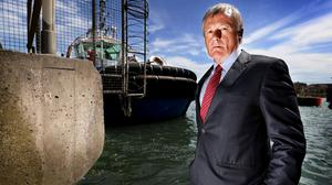 Leader: Michael O'Sullivan, chief of the Maritime Analysis Operations Centre in Portugal. Photo: Steve Humphreys