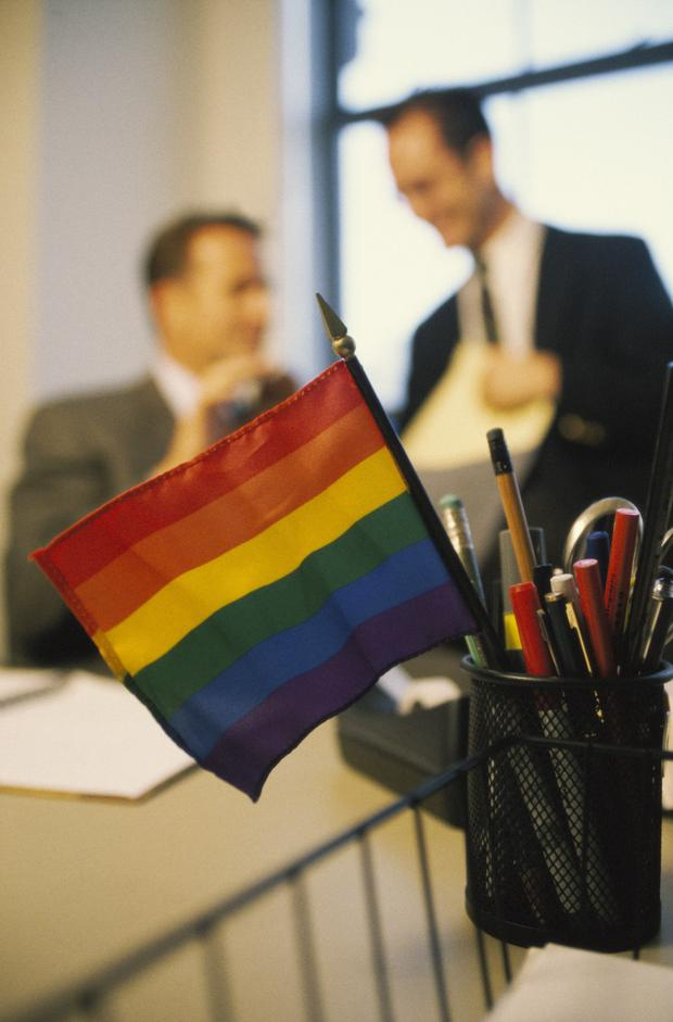 Almost 50pc of LGBT+ (lesbian, gay, bisexual, transgender and other sexual and gender minorities) workers are not 'out' at work, according to LGBT+ professional network Outstanding. Stock photo: Getty
