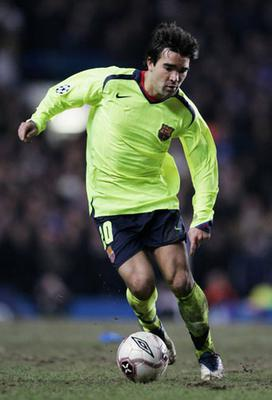 Barcelona Barcelona had a luminous away kit in 2006 - which Chelsea and others have since copied