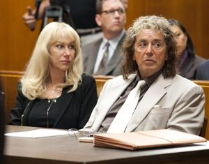 Helen Mirren and Al Pacino in a scene from the HBO film Phil Spector. AP