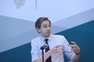 Waiting for advice: Health Minister Simon Harris wants visits to nursing homes to begin again. Picture Colin Keegan, Collins Dublin