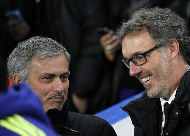 Jose Mourinho and Laurent Blanc are linked with Manchester United