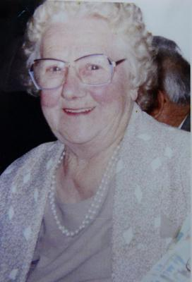 Mary O'Brien (pictured) died in January 2009 but has received a bill for water from Irish Water. Mary's daughter Angela Murtagh says her mother would have been 96 if she was alive