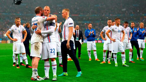 The Icelandic players went further than anyone would have believed at last year's Euros