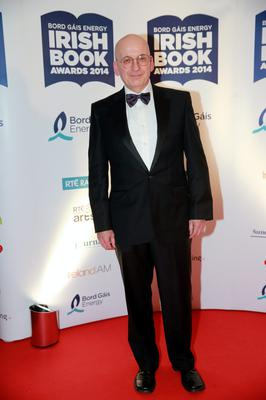 Roddy Doyle at the Bord Gais Energy Irish Book Awards at the Double Tree by Hilton Hotel in Dublin. Picture:Arthur Carron