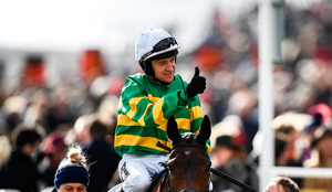 Barry Geraghty is the leading jockey with four winners ahead of the final day