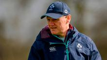 Ireland head coach Joe Schmidt during squad training at Carton House in Maynooth, Co Kildare. Photo by Piaras Ó Mídheach/Sportsfile