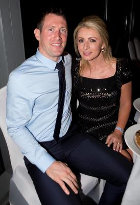 Dublins   Denis Bastick with Wife Jody at the Winners Banquet in The Gibson Hotel