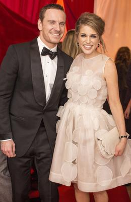 Michael Fassbender & Amy Huberman pictured at the Moët & Chandon VIP drinks reception at the 11th Annual Irish Film & Television Awards, which took place in the Double Tree by Hilton on Saturday, 5th April. Guests were treated to Moët & Chandon on arrival and at their table to toast the nominees and winners. Photo: Anthony Woods