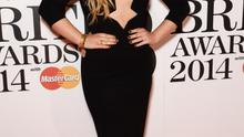 Ella Henderson attends The BRIT Awards 2014
