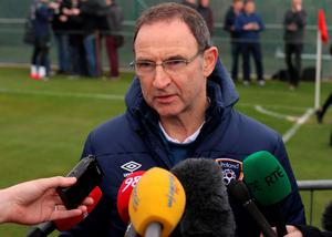 Townsend would like to see the atmosphere from the old Lansdowne Road created as O'Neill seeks to mastermind the biggest win to date at the Aviva Stadium.