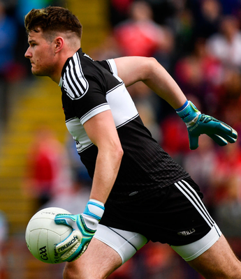 'Derry's young 'keeper Ben McKinless was brilliant and awful, but for me, it is the brilliance that is important'. Photo: Sportsfile