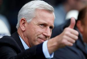 Newcastle United manager Alan Pardew has thanked owner Mike Ashley for his patience