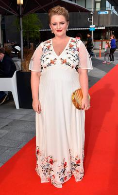 Louise McSharry arrives at The Marker Hotel for the VIP Style Awards 2016