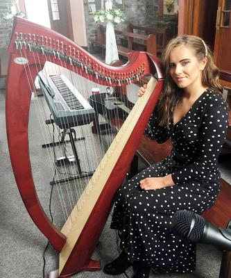 Riona Sheahan was one of the musicians on the Harps for Hope Concert