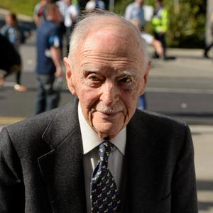 22 September 2013; Former Taoiseach Liam Cosgrave ahead of the GAA Football All-Ireland Championship Finals, Croke Park, Dublin.