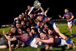 UL players celebrate with the cup