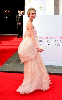 Donna Air arrives for the House of Fraser British Academy of Television Awards at the Theatre Royal, Drury Lane in London. PRESS ASSOCIATION Photo. Picture date: Sunday May 10, 2015. See PA story SHOWBIZ Bafta. Photo credit should read: Ian West/PA Wire