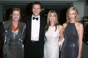 Liam Neeson & Natasha Richardson, with her sister, Joely Richardson & their Mother, Vanessa Redgrave at the 10th Anniversary benefit for the Christopher Reeve Paralysis Association which recently merged with the Christopher Reeve Foundation the event was held in New York City on November 14, 2000  (Photo: Nick Elgar/Getty Images)