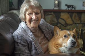 Joan Harrington has also limited her activities due to Covid-19. Photo: Michael Mac Sweeney/Provision