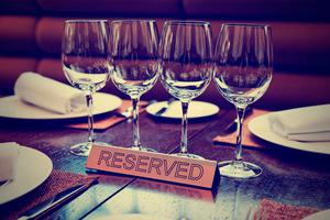 The no-show issue is now a threat for restaurants