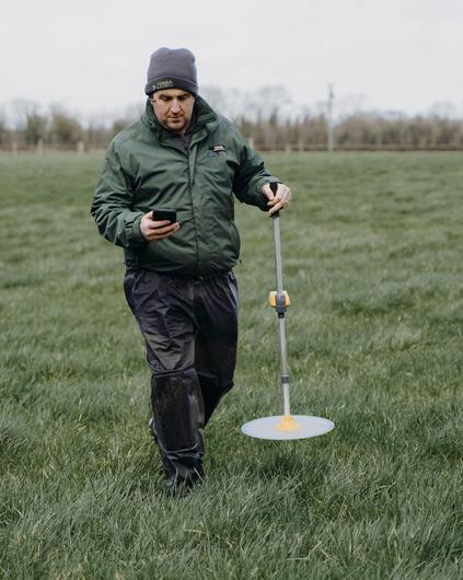 20/02/2020 Fiachra Liston pictured on his farm at Banogue, Croom, Co Limerick. Pic: Don Moloney