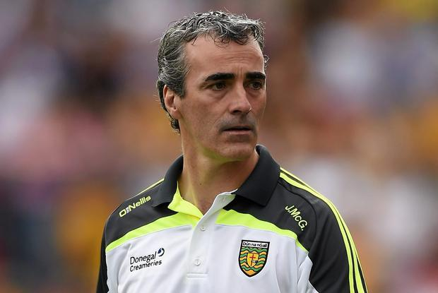 Donegal manager Jim McGuinness