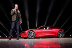 Billions: Tesla's Musk is now worth more than $100bn