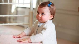 Princess Charlotte, an image taken by the Duchess of Cambridge at Anmer Hall in Norfolk in April