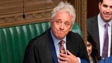 Standing down: House of Commons Speaker John Bercow. Photo: AFP PHOTO / JESSICA TAYLOR / UK Parliament