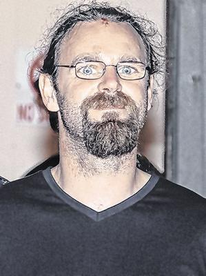 Stephen Silver (pictured) is charged with murdering Colm Horkan