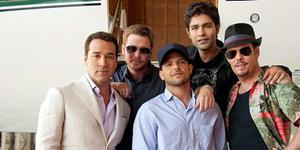 Entourage movie - Adrian Grenier, Kevin Connolly, Jerry Ferrara, Kevin Dillon and Jeremy Piven