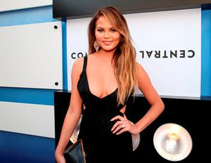 Model Chrissy Teigen attends The Comedy Central Roast of Justin Bieber at Sony Pictures Studios